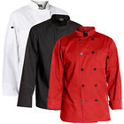 Внешний вид - Chef Code Men's 10 Button Classic Chef Coat / Jacket CC122