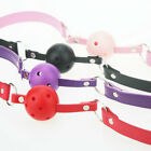 New Four Colors Slave Faux Leather Hollow Gagged Mouth Ball Gag Role Play Toy $6.55 USD on eBay