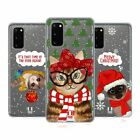 HEAD CASE DESIGNS MEOWY CHRISTMAS SOFT GEL CASE FOR SAMSUNG PHONES 1