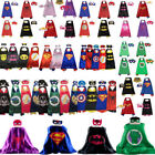 Внешний вид - 2018New cloak plus mask for kids birthday party favors and ideas 70CM