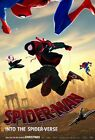 Spider Man Into the Spider Verse girl, Miles Morales Cartoon Poster RePrint Gwen