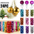 Внешний вид - 24PCS Christmas Xmas Tree Ball Bauble Home Party Ornament Hanging Decor 30mm New