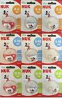NUK DISNEY MICKEY SOOTHER SILICONE BPA FREE PACIFIER 0-36 FREE SHIPPING !!!