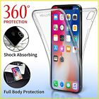 Case For Iphone 6 7 8 5s Se Plus  Xs Xr Max Cover 360 Luxury Thin Shockproof Tpu