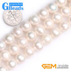 """10-11mm Freshwater Pearl Gemstone Round Beads Free Shipping 15"""" Assorted Color"""
