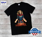 T Shirt Captain Marvel Rare NEW Limited Edition Size S-3XL  image