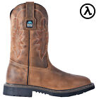 "MCRAE INDUSTRIAL 11"" WELLINGTON COMPOSITE TOE WORK BOOTS MR85304 * ALL SIZES"