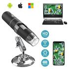 MoKo 50x-1000x Magnification 1080P HD 8 LED 2MP WiFi Digital Microscope Camera