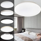 Bright Round LED Ceiling Down Light Panel Wall Kitchen Bathroom Lamp 48W/72W