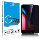9H Privacy Anti-Spy Tempered Glass Screen Protector for iPhone X XS 6 7 8 Plus $4.19 USD on eBay