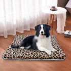 Dog Pet Mat Bed Pad Self Heating Soft Warm Dog Crate Cushion Blanket Small Large