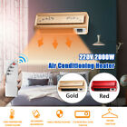 220V 2000W Electric Wall Mounted Heater Space Heating Air Conditioner + Remote