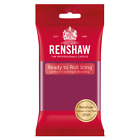 Renshaw Cassis Ready to Roll Icing 250g, 500g, 750g, 1kg *NEW COLOUR* Free Post