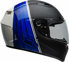Bell Black/Blue/White Qualifier DLX MIPS Illusion Motorcycle Full Face Helmet