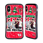 ONE DIRECTION 1D PHOTO DOODLE CHRISTMAS HYBRID CASE FOR APPLE iPHONES PHONES