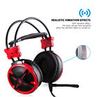 AUSDOM 3.5mm Gaming Headset Mic LED Headphones Stereo Surround Sound For PS4 PC