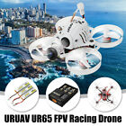 URUAV UR65 65mm FPV Racing Drone BNF Crazybee F3 Flight Controller OSD 5A RC Toy
