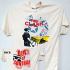 THE CLASH,1984 Out Of Control TOUR T-Shirt,All Sizes,T-633Ivy,L@@K! image
