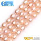 """9-10mm Potato Shape Natural Cultured Pearl Gemstone Beads For Jewelry Making 15"""""""