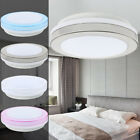 Modern 8W 12W Bright LED Ceiling Down Light Panel Wall Bathroom Lamp White