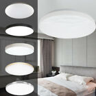 36W Bright Round LED Ceiling Down Light Panel Wall Bathroom Lamp Ultrathin White