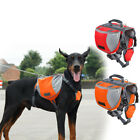 Outdoor Pet Dog Saddle Bag Puppy Travel Camping Backpack Carrier Harness Pack US