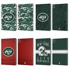 OFFICIAL NFL 2018/19 NEW YORK JETS LOGO LEATHER BOOK WALLET CASE FOR APPLE iPAD $32.57 USD on eBay