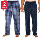 Внешний вид - Nautica Men's 2-pack Fleece Pant Lounge Pajama Pants Pick Size & Color