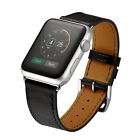 Genuine Leather Classic Watch Band Strap for iWatch Apple Watch Series 5/4/3/2/1