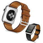 Genuine Leather Classic Watch Band Strap for iWatch Apple Watch Series 4/3/2/1 image