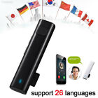 DB41 Smart Translator Bluetooth Translation 26 Language for Travel Meeting Xmas