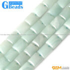 10x14mm Natural Amazonite Rectangle Beads For Jewelry Making Strand 15""