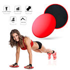 Core Sliders Power Gliding Discs Dual Sided Exercise Equipment for Abs Fitness