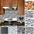 Fashion Mosaic 3D Self-adhesive Bathroom Kitchen Decor Wall Stair Tile Sticker