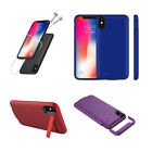 Portable Holder Charger Battery Power Bank Case Charging Cover For iPhone XS Max