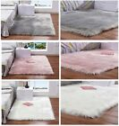 Внешний вид - Faux Fur Sheepskin Rug Fluffy Mat Pad Room Sofa Bed Hairy Shaggy Floor Carpet US