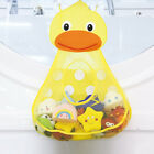 1x Lovely Duck Baby Bath Tub Toy Mesh Net Storage Bag Bathroom Organizer Holder
