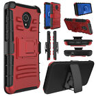 For Alcatel 1X Evolve / IdealXTRA / TCL LX A502DL Shockproof Case Kickstand Clip