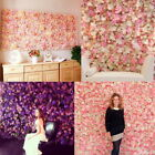 1PC Silk Hydrangea Rose Flower Wall Panel Wedding Party Backdrop Decor GIFT