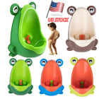 Cute Frog Shaped Kid Baby Potty Toilet Training Urinal Boys Pee Trainer Bathroom image