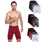 Men's New Style Elastic Breathable Boxer Briefs Underwear Lot (4 Pack) GIFT