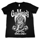 Gas Monkey Garage Kids Shirt Biker Monkey Offiziell Kids Nue