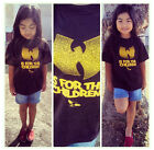 Внешний вид - Wutang is for the children  t-shirt for toddlers