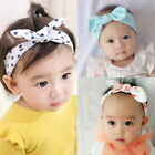 3PC Cute Baby Girls Floral Print Hairband Headbands Toddler Headwrap Hair Access