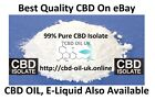 CBD Isolate Powder Crystal - Test Results 99% - CHEAPEST ON EBAY