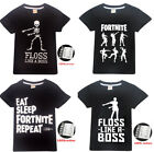 New Hot Sale Kids Boys Cosplay Casual T-shirt Fortnite Summer Short Sleeves Tops
