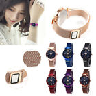 Luxury Starry Sky Watch Waterproof Magnet Strap Buckle Stainless Women Gift BEST image