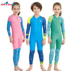 DIVE&SAIL One Piece Kids Quick-dry Swimsuits Rushguard  Diving Swimwear