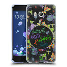 HEAD CASE DESIGNS PRINTED EMBROIDERED QUOTES SOFT GEL CASE FOR HTC PHONES 1