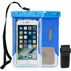 NEW WATERPROOF Pouch Glows In The Dark Phone Case Cover free shipping in 1-4 day